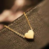 Beautiful Gold Heart Necklace