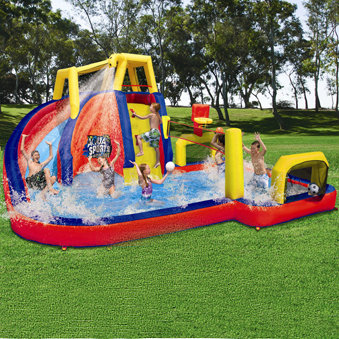 inflatable backyard water slides banzai from
