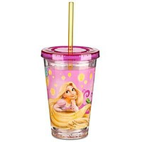 Tangled Rapunzel Tumbler with Straw -- Small | Disney Store