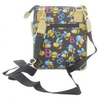 Bumble Bee Simulated Leather Tote
