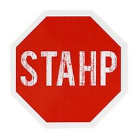 Stahp Sign Sticker - 10004386