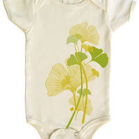 Tomat Kids Organic Onesuit Ginkgo - Pop! Gift Boutique