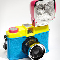 Lomography Diana F+ CMYK Camera Kit | Shop Cameras Now