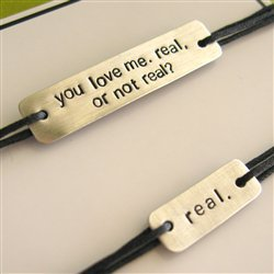Real or Not Real Bracelet Set - Hunger Games - Spiffing Jewelry