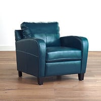 Mallard Green Mason Bi-Cast Leather Chair