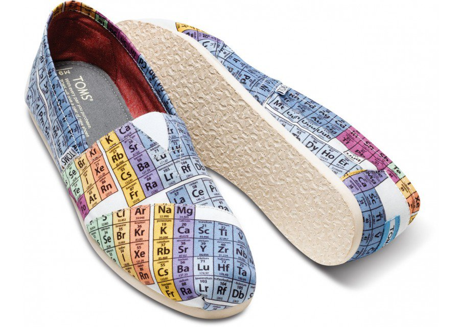 Periodic Table Mens Vegan Classics from TOMS Shoes : original from wanelo.com size 900 x 640 jpeg 128kB