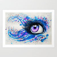 """In my eyes"" Art Print by PeeGeeArts"