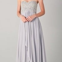 Column Sweetheart Prom Dress 2012
