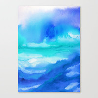 Rise II Stretched Canvas by Jacqueline Maldonado