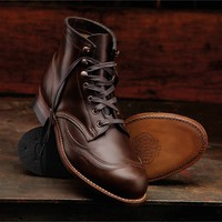 Men's Addison 1000 Mile Wingtip Boot - W05342 - Vintage Boots