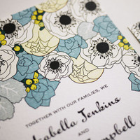 Spring Wedding Invitation (PRINTABLE) | Luulla