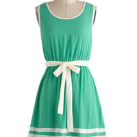 Toot Your Own Greenhorn Dress | Mod Retro Vintage Dresses | ModCloth.com