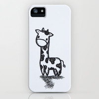 GIRAFFE iPhone Case by Kian Krashesky | Society6