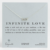Dogeared 'Infinite Love' Reminder Pendant Necklace | Nordstrom