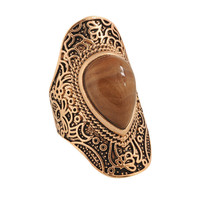 Etched Floral Ring | FOREVER21 - 1000034315