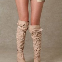 City Wrap Over The Knee Boot at Free People Clothing Boutique