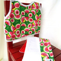 Watermelon Baby Gift Set by maddywear