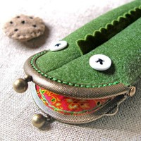 Alejandro el Legarto the Pencil Case by annamatic on Etsy