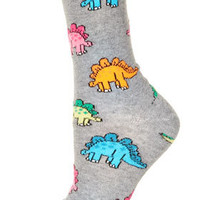 All Over Stegosaurus Socks - Tights &amp; Socks  - Bags &amp; Accessories
