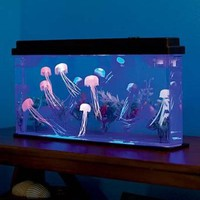 Giant Jellyfish Aquarium with Color-Changing LED Lights: Toys &amp; Games