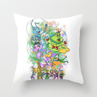 Disney Pixar Play Parade - Bug's Life Unit Throw Pillow by Joey Noble | Society6