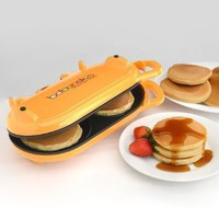 Babycakes Flip-Over Pancake Maker Orange: Kitchen & Dining