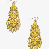 Fringed Drop Earrings