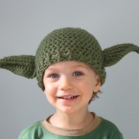 Yoda This Hat Is by MaryOriginals on Etsy