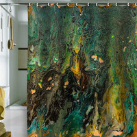 Brooke Lynn Art Sea Floor Shower Curtain