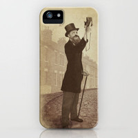 Vintage Selfie iPhone Case by Eric Fan | Society6