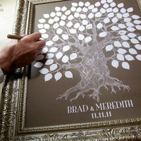 Oak Tree- Wedding Guest Keepsake