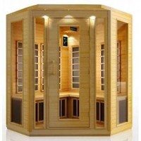 4 Person Corner Sauna Hemlock Carbon Fiber Dry Heat FAR Infrared Portable Detox New: Health & Personal Care: Reviews, Prices & more