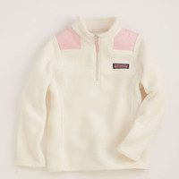 Girls Outerwear: Fleece Shep Shirt for Girls – Vineyard Vines