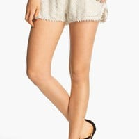 Rubbish 'Festival' Lace Shorts (Juniors) | Nordstrom