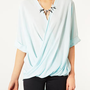 Casual Drape Top - Tops  - Clothing