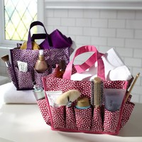 Mini Dot Bath Beauty Bin