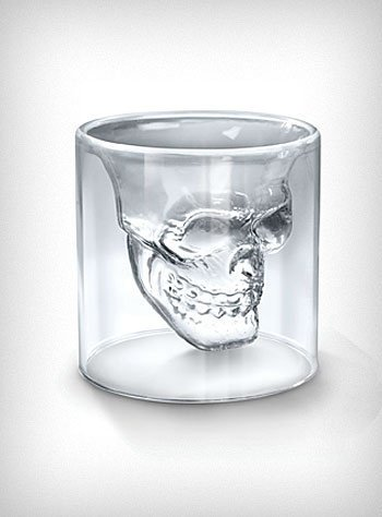 Doomed Skull Shot Glass | PLASTICLAND