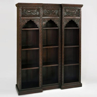 Wood Peacock Bookshelf - World Market
