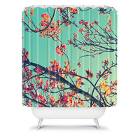 DENY Designs Home Accessories | Shannon Clark Summer Bloom Shower Curtain
