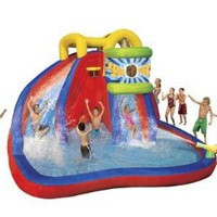 Amazon.com: Banzai Drop Zone water Slide: Toys & Games