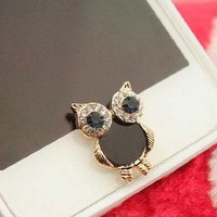 eBADA Cute Vintage Owl Charm phone Home Return Keys Buttons Sticker For iPhone 4S iPhone 5 iPod Touch iPad Repair Fix Replace Replacement: Cell Phones & Accessories