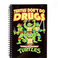 Tmnt Dont Do Drugs Journal in
