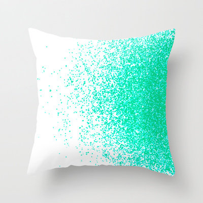 Fresh mint flavor throw pillow by from society6 home products - Bedroom throw pillows ...