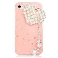 DIY Heart-shaped Tassel Case for iPhone 4 / 4s