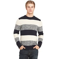 STRIPE CREW NECK SWEATER | Tommy Hilfiger USA