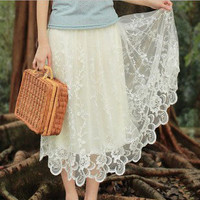 Fresh Lace Skirt