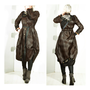 50% Sale Handmade Coat Spring 2013 Steampunk Victorian Jacket Brown