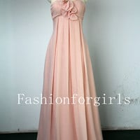 2013 Long Prom Dress - Princess Sweetheart Floor-length Chiffon Prom Dresses