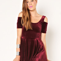 MARKET HQ | Velvet Rope Dress