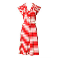Yves St. Laruent - YSL Stripe Middy Dress